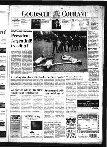 Goudsche Courant 2001-12-21