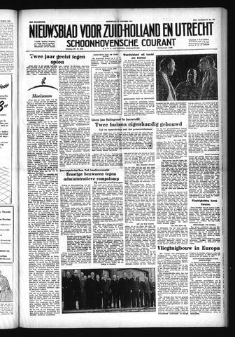 Schoonhovensche Courant 1952-10-15