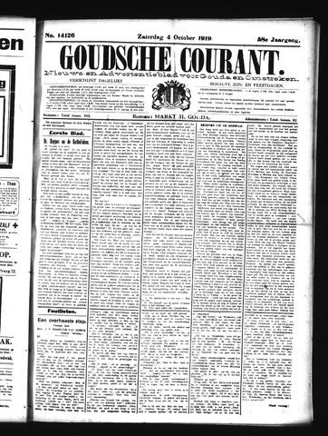 Goudsche Courant 1919-10-04