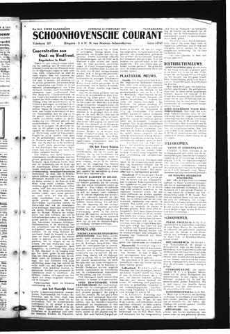 Schoonhovensche Courant 1945-02-13