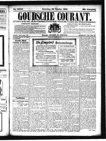Goudsche Courant 1919-10-25