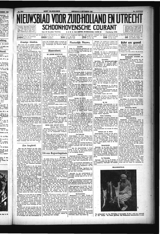 Schoonhovensche Courant 1932-09-21