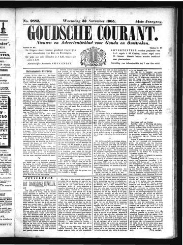 Goudsche Courant 1905-11-22