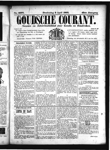 Goudsche Courant 1903-04-09