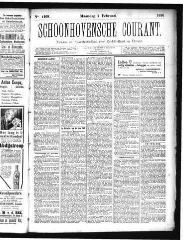 Schoonhovensche Courant 1920-02-02