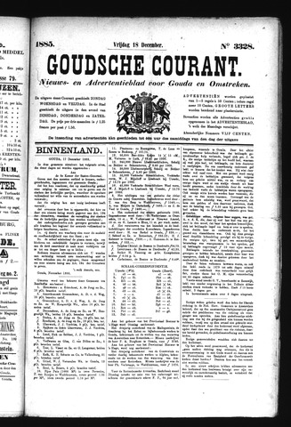 Goudsche Courant 1885-12-18
