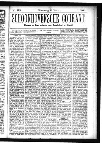Schoonhovensche Courant 1901-03-20