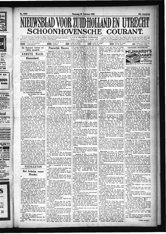 Schoonhovensche Courant 1928-02-20