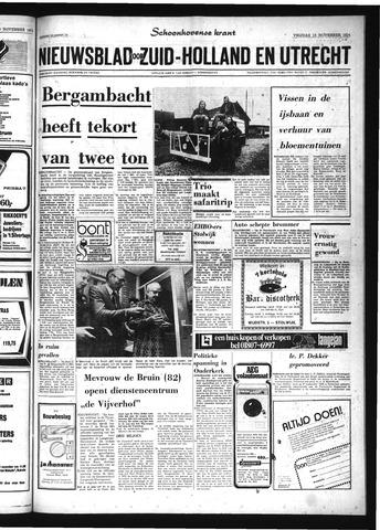 Schoonhovensche Courant 1974-11-15