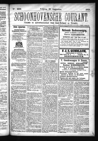 Schoonhovensche Courant 1918-08-30