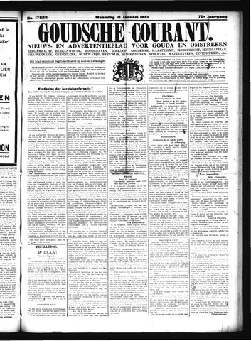 Goudsche Courant 1932-01-18