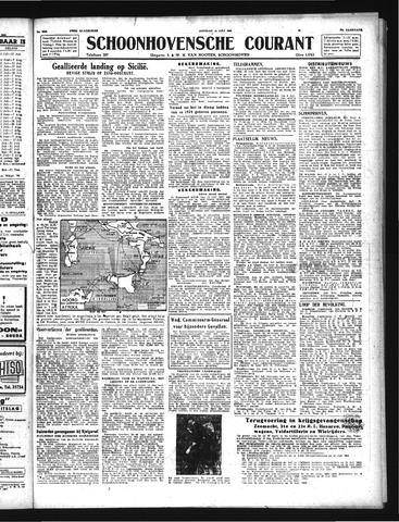 Schoonhovensche Courant 1943-07-13