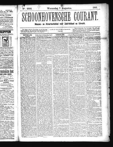 Schoonhovensche Courant 1901-08-07