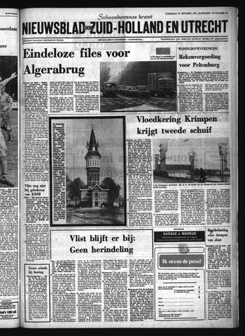Schoonhovensche Courant 1976-10-27