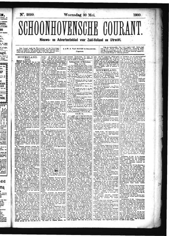 Schoonhovensche Courant 1900-05-30