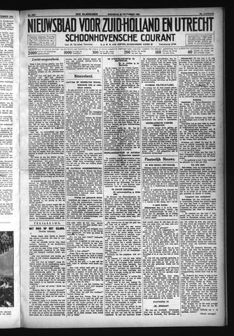 Schoonhovensche Courant 1932-09-28