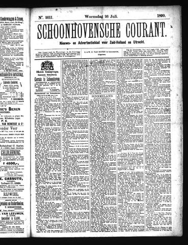 Schoonhovensche Courant 1899-07-26