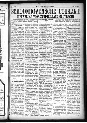 Schoonhovensche Courant 1926-09-27