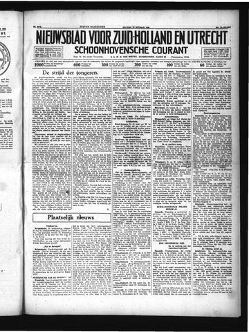 Schoonhovensche Courant 1934-10-19