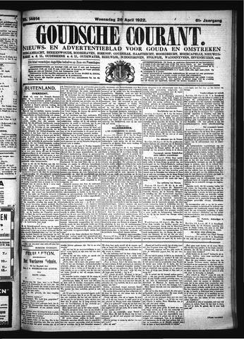 Goudsche Courant 1922-04-26