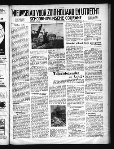 Schoonhovensche Courant 1950-01-20