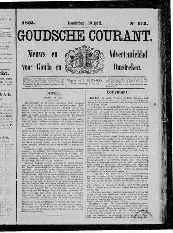 Goudsche Courant 1863-04-30