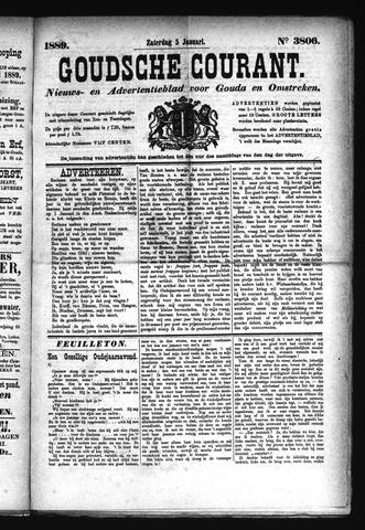 Goudsche Courant 1889-01-05