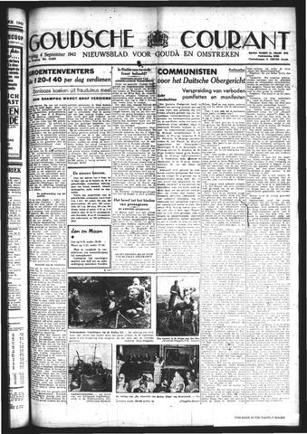 Goudsche Courant 1942-09-04