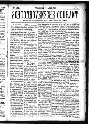 Schoonhovensche Courant 1893-08-02