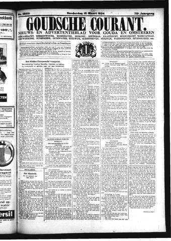 Goudsche Courant 1934-03-15