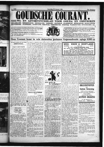 Goudsche Courant 1938-01-22