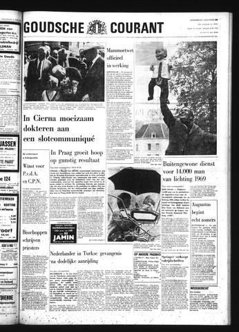 Goudsche Courant 1968-08-01