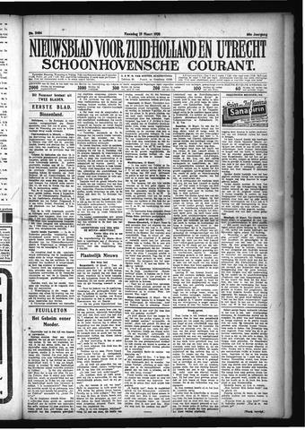 Schoonhovensche Courant 1928-03-19