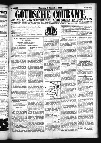 Goudsche Courant 1936-11-09