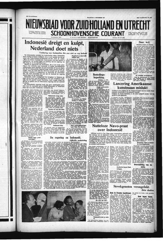 Schoonhovensche Courant 1957-12-09