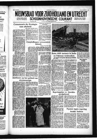 Schoonhovensche Courant 1955-10-10