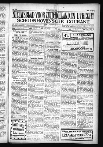 Schoonhovensche Courant 1928-07-20