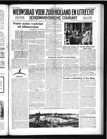 Schoonhovensche Courant 1952-08-20