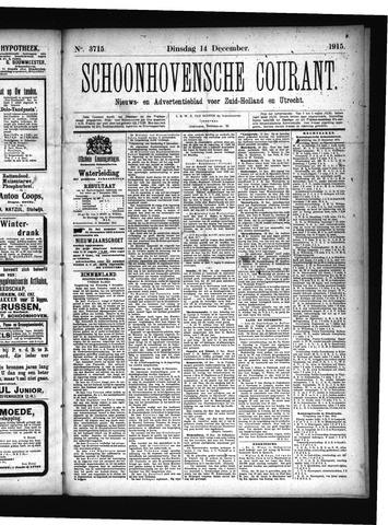 Schoonhovensche Courant 1915-12-14