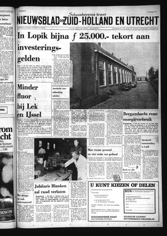 Schoonhovensche Courant 1973-11-09