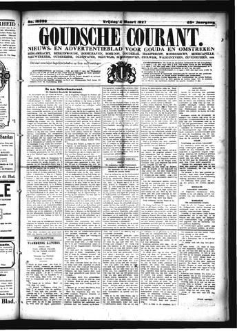 Goudsche Courant 1927-03-04