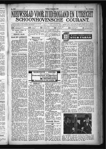 Schoonhovensche Courant 1929-08-02