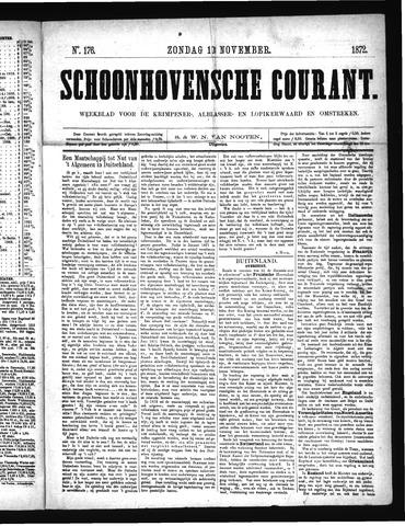 Schoonhovensche Courant 1872-11-10