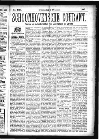 Schoonhovensche Courant 1895-10-02