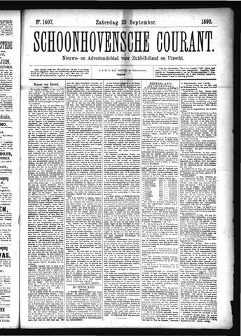 Schoonhovensche Courant 1893-09-23
