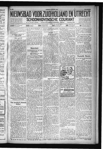 Schoonhovensche Courant 1931-02-09
