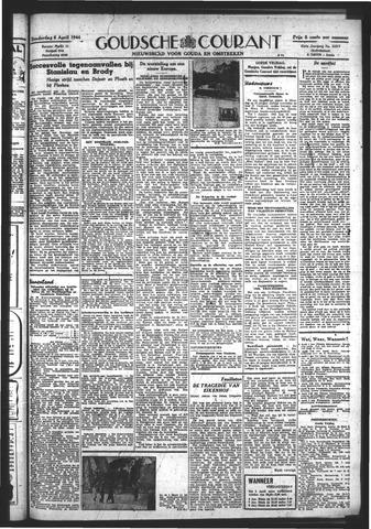 Goudsche Courant 1944-04-06
