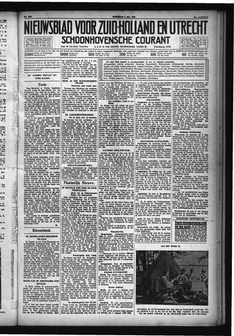 Schoonhovensche Courant 1932-07-06