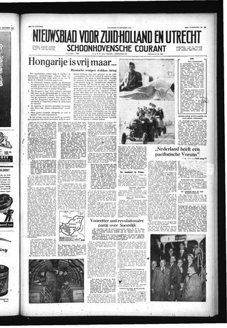 Schoonhovensche Courant 1956-10-29