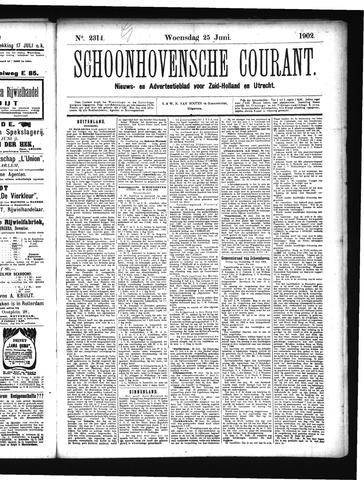 Schoonhovensche Courant 1902-06-25